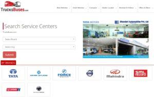 Truck service centre