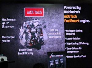 Mahindra Furio Trucks Engine
