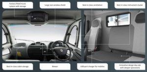 Ashok Leyland Guru 1010 Truck Interiors