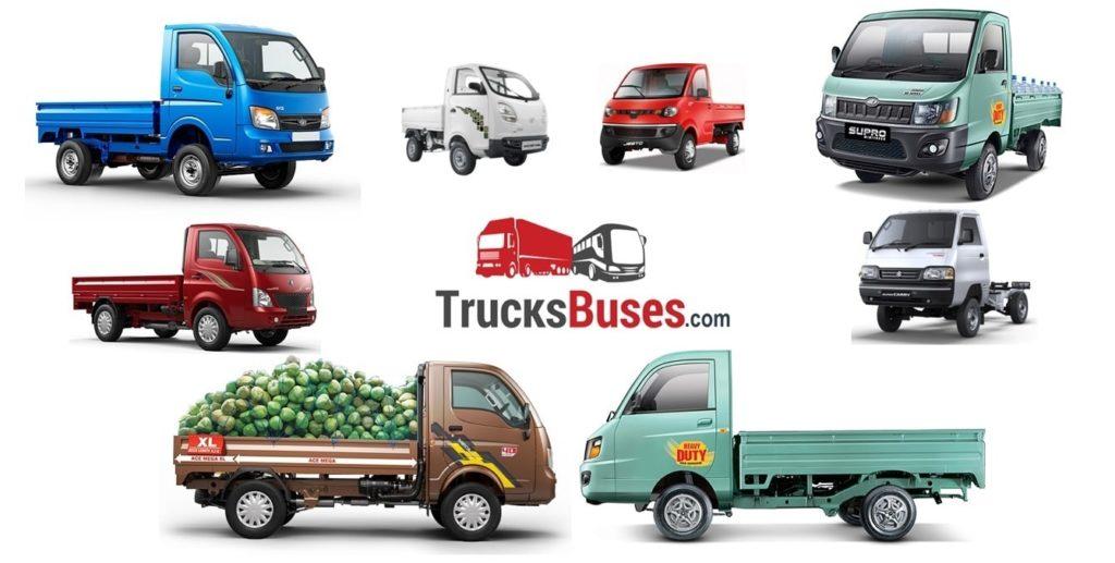 Best Mini Trucks in India 2019
