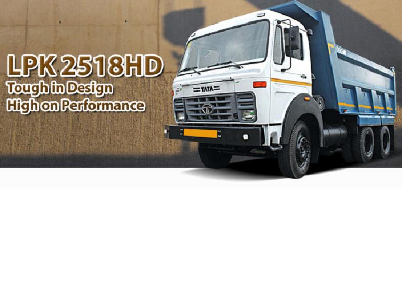 Tata LPK 2518 HD - 6S Tipper