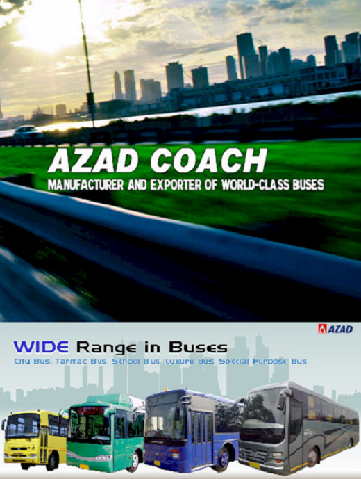Azad Coach Bus Body Fabricator