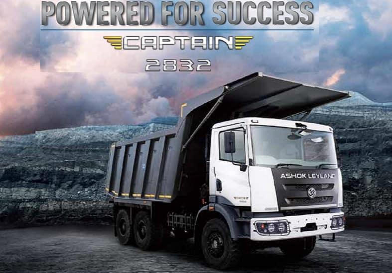 Ashok Leyland Captain 2832 Tipper