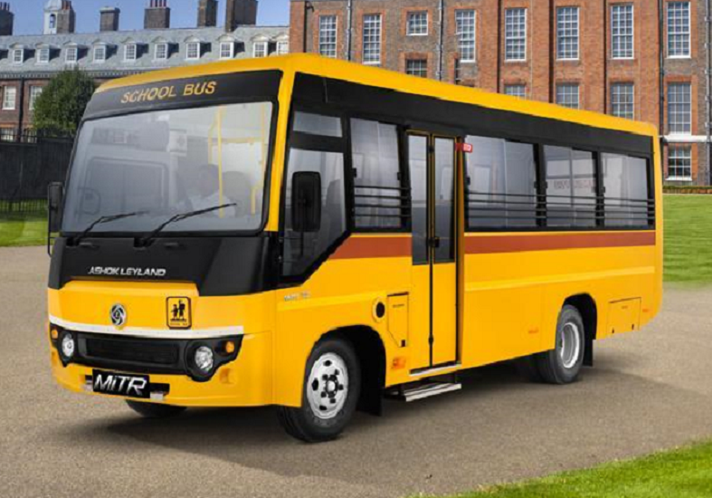 Ashok Leyland MiTR 4270 : 31 / 46 Seater Bus Price, Specifications