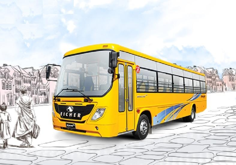 Eicher Skyline Pro 3008H: School 52 Seater