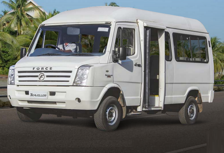 Force Traveller 3350 Wider: 12 / 13 Seater