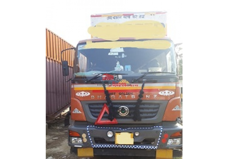 Buy used Bharatbenz trucks, used Bharatbenz buses, used